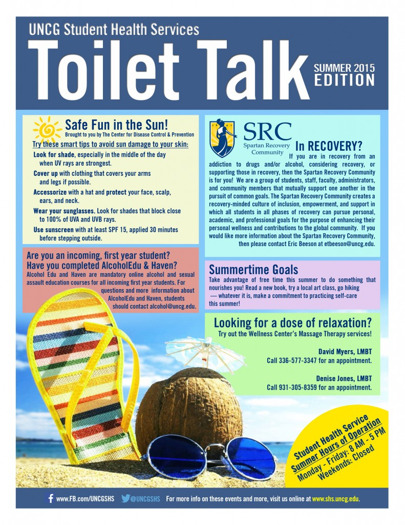 Summer 2015 Toilet Talk